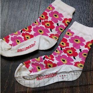 マリメッコ(marimekko)のもっと値引しました marimekko マリメッコ 靴下 ソックス キッズ(靴下/タイツ)