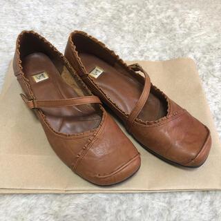 イング(ing)のing フリルデザイン革靴(ローファー/革靴)