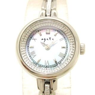 アガット(agete)のアガット 腕時計 - GN-4-S レディース(腕時計)
