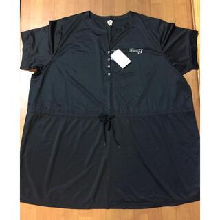 ニッセン(ニッセン)の【新品】10L 吸水,速乾Tシャツ ニッセン スマイルランド 黒色(Tシャツ(半袖/袖なし))