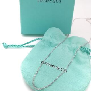 ティファニー(Tiffany & Co.)の希少 未使用 ティファニー プラチナ 50㎝ ネックレス チェーン NK19(ネックレス)