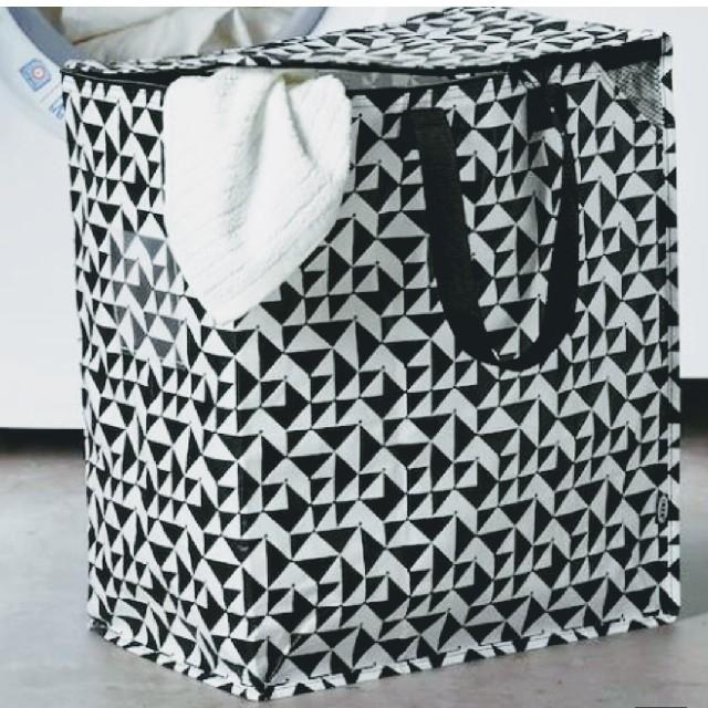 IKEA(イケア)のイケア人気新品IKEA クナラ エコバッグ 収納 袋 トートバッグ ♪大容量 インテリア/住まい/日用品の収納家具(押し入れ収納/ハンガー)の商品写真