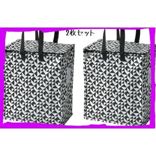 イケア(IKEA)のイケア人気新品IKEA クナラ エコバッグ 収納 袋 トートバッグ ♪大容量(押し入れ収納/ハンガー)