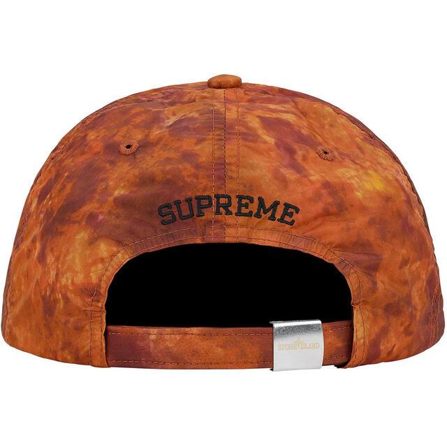 Supreme(シュプリーム)のSupreme Stone Island Nylon 6-Panel Coral メンズの帽子(キャップ)の商品写真