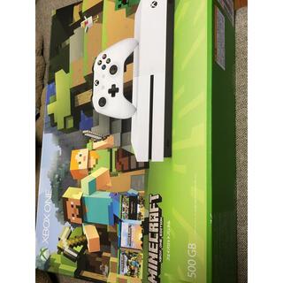 マイクロソフト(Microsoft)のXbox One S 500GB Ultra HD Minecraft 同梱版 (家庭用ゲーム機本体)