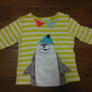 ナルミヤ インターナショナル(NARUMIYA INTERNATIONAL)のベイビーチア ペンギン ロンT 100(Tシャツ/カットソー)