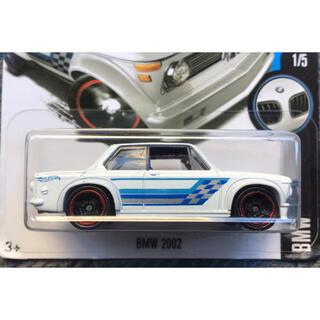 ビーエムダブリュー(BMW)のHW Hot Wheels ホットウィール BMW 2002 ホワイト 白(ミニカー)