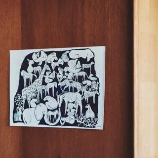 mina perhonen - ミナペルホネン つづく展  life puzzles ポスター