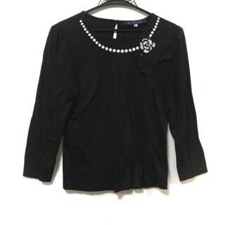 エムズグレイシー(M'S GRACY)のエムズグレイシー 七分袖Tシャツ 38 M美品 (Tシャツ(長袖/七分))