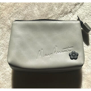 MARY QUANT - マリークワント♡ グレーのポーチ