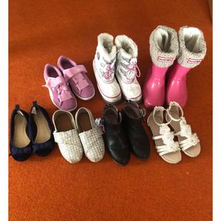 ハンター(HUNTER)の女の子 靴7足セット 17.5cm(スニーカー)
