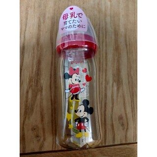 Pigeon - 新品★ ピジョン 母乳実感 哺乳瓶 ミッキーマウス