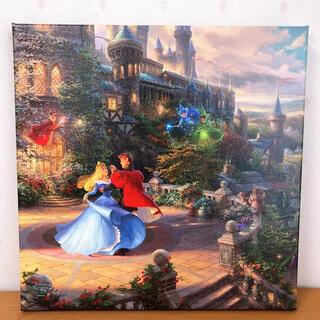 Disney - トーマスキンケード ディズニー 眠れる森の美女 キャンバス アート