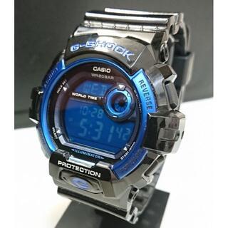 ジーショック(G-SHOCK)の7258 G-SHOCK G-8900A ブルー×ブラック メンズ時計デジタル(腕時計(デジタル))