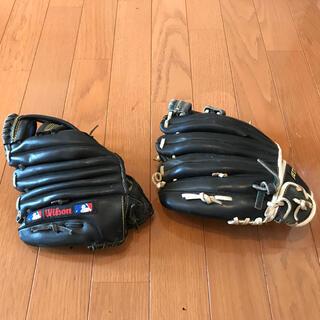 ゼット(ZETT)の野球グローブ子供用 2個セット(グローブ)