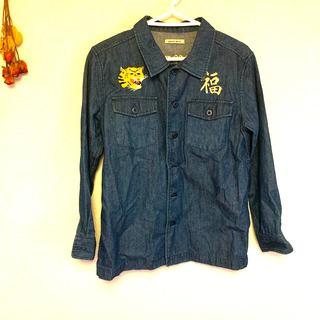 ローズバッド(ROSE BUD)のROSE BUD ベトナム刺繍デニムシャツ(Gジャン/デニムジャケット)