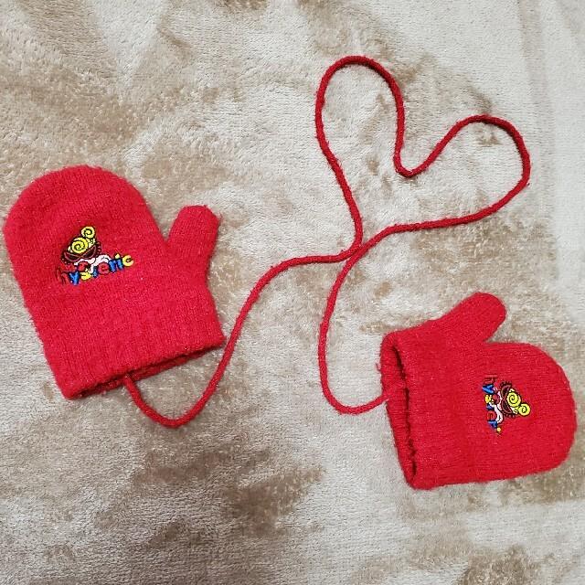 HYSTERIC MINI(ヒステリックミニ)のヒスミニ 手袋 キッズ/ベビー/マタニティのこども用ファッション小物(靴下/タイツ)の商品写真
