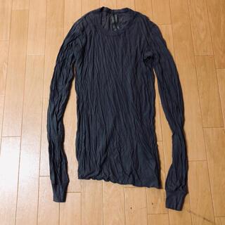 リックオウエンス(Rick Owens)のrick owens  ロングスリーブ Tシャツ ダークシャドウ(Tシャツ/カットソー(七分/長袖))