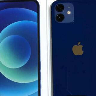 Apple - 新品同様 iPhone12  128gb ブルー simフリー版