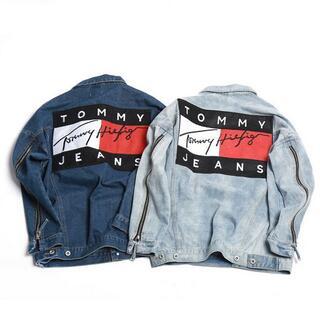 トミー(TOMMY)のTOMMYトミージーンズ デニムジャケット男女兼用8800円送料込(Gジャン/デニムジャケット)