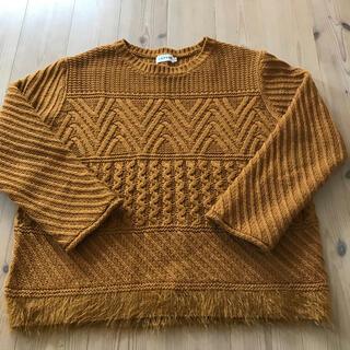 LEPSIM - レプシム ニット セーター キャメル  M