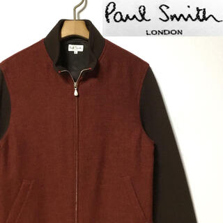 Paul Smith - 美品!日本製!ポールスミス・ロンドン ウール × ニット シングルライダース