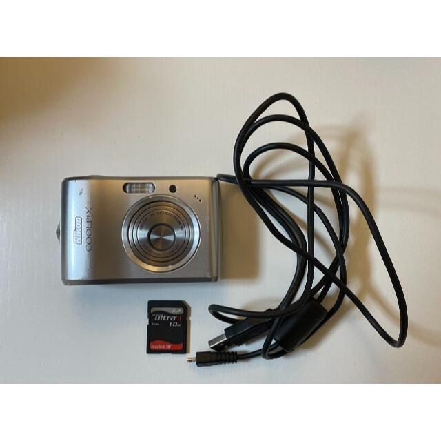 Nikon(ニコン)のコンパクトデジタルカメラCOOLPX L15 *SDカード・ケーブル付きでお得* スマホ/家電/カメラのカメラ(コンパクトデジタルカメラ)の商品写真
