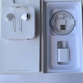 アップル(Apple)のiPhone SE2 付属品セット 新品未使用 イヤホン 充電器 純正(ヘッドフォン/イヤフォン)