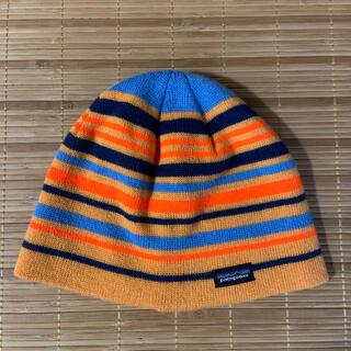 パタゴニア(patagonia)のパタゴニア ビーニー オレンジ(ニット帽/ビーニー)