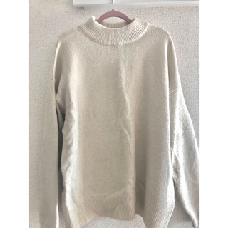 GU - GU ラメハイネックセーター
