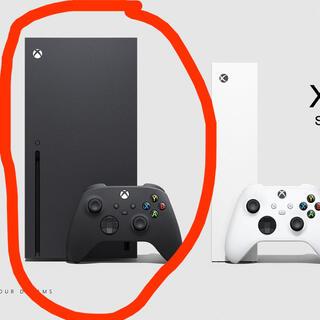 マイクロソフト(Microsoft)のMicrosoft Xbox Series X (家庭用ゲーム機本体)