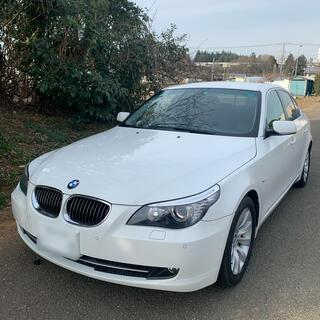 BMW - BMW E60 後期 車検令和4年11月 ホワイト