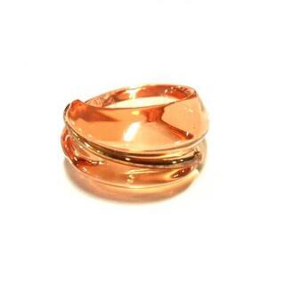 バカラ(Baccarat)のBaccarat(バカラ) リング美品  - オレンジ(リング(指輪))