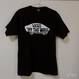 VANS - VANS ブラック 半袖Tシャツ