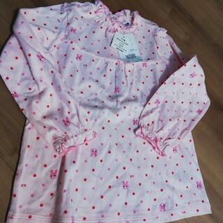ホットビスケッツ(HOT BISCUITS)のホットビスケッツミキハウスMIKI HOUSE110長袖カットソー新品女の子(Tシャツ/カットソー)