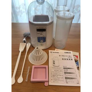 アイリスオーヤマ(アイリスオーヤマ)の美品 アイリスオーヤマ ヨーグルトメーカー IYM-013(調理機器)