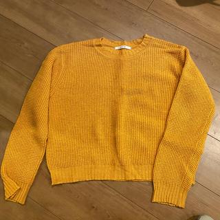 PAR ICI - 《PAR ICI》マンダリンオレンジ色のウール100%セーター