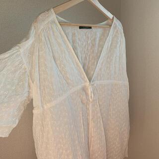 ダブルクローゼット(w closet)のダブルクローゼット ブラウス(シャツ/ブラウス(半袖/袖なし))