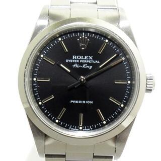 ロレックス(ROLEX)のロレックス 腕時計 エアキング 14000 黒(その他)