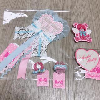 アンジェリックプリティー(Angelic Pretty)のAngelic Pretty Melody TOYS 小物 3点ヘアクリップ2点(バレッタ/ヘアクリップ)
