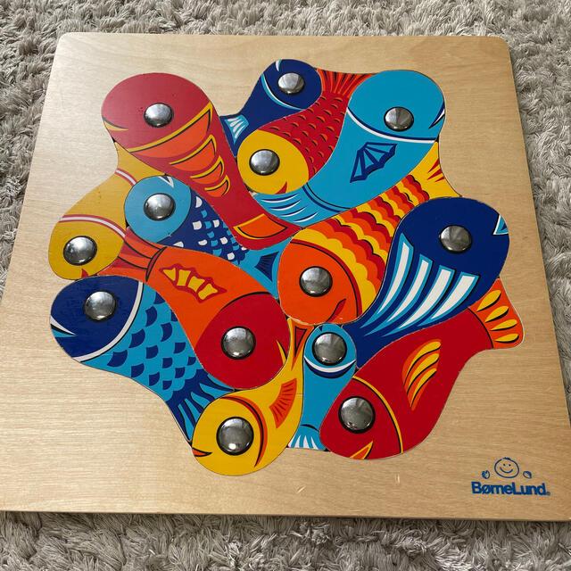 BorneLund(ボーネルンド)のsmile777@様専用 フィッシングパズル キッズ/ベビー/マタニティのおもちゃ(知育玩具)の商品写真