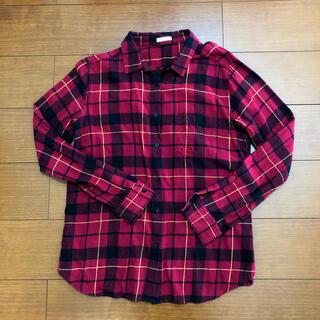 GU - GU ネルシャツ チェックシャツ