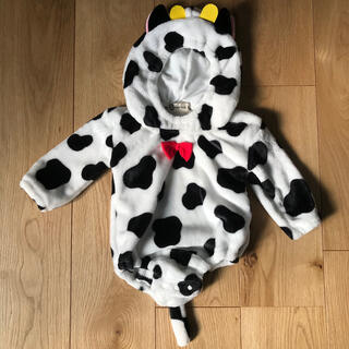 赤ちゃん 牛 サイズ80 コスチューム(ロンパース)