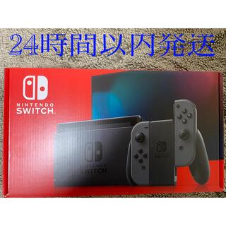 【新品】Nintendo Switch グレー(その他)