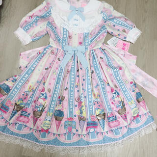 Angelic Pretty - Angelic Pretty ice cream  ワンピース タグ付き