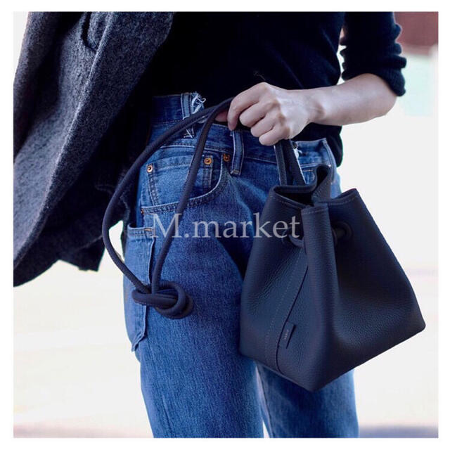 L'Appartement DEUXIEME CLASSE(アパルトモンドゥーズィエムクラス)のVASIC  bond mini leather bag  レディースのバッグ(ハンドバッグ)の商品写真