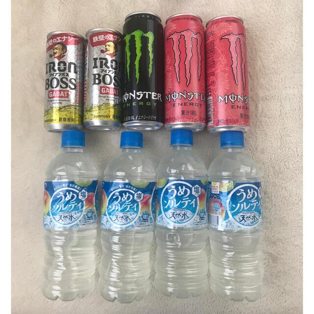 BOSS WONDA等 缶コーヒー エナジードリンク ジュース 60本詰め合わせ 食品/飲料/酒の飲料(コーヒー)の商品写真
