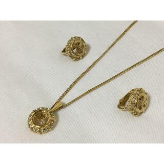 クレージュ(Courreges)の350美品♪クレージュ ネックレス&イヤリングゴールドセット(ネックレス)