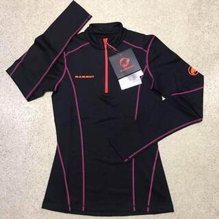 マムート(Mammut)の新品 MAMMUT レディースS アイガーエクストリーム 長袖ジップシャツ(登山用品)