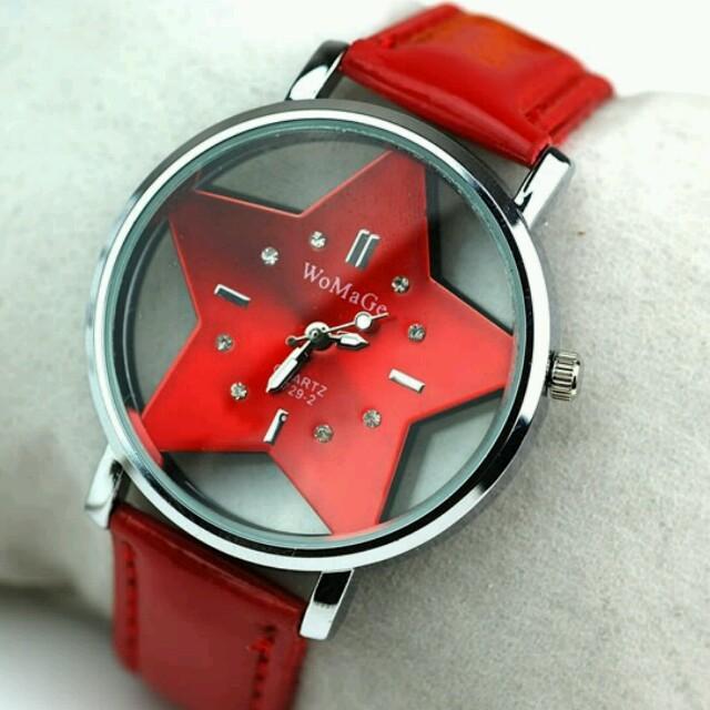 791236fbca 【大人気!】可愛い星形腕時計 レディースのファッション小物(腕時計)の